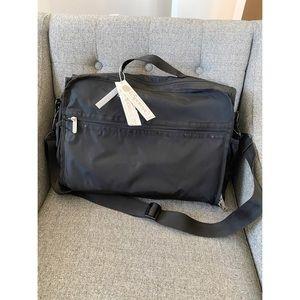 LeSportsac Black Nylon Diaper Bag, NWT